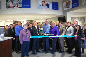 Dupont branch ribbon cutting