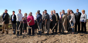Dupont branch ground breaking