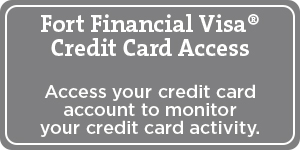 credit card access button